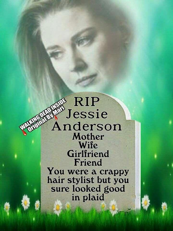The Walking Dead, Memes, Jessie Anderson, Alexandra Breckenridge
