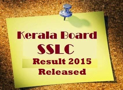 The Kerala board is going to announce the SSLC result 2015 on its official portal keralaresults.nic.in.  Students who appeared in the SSLC exam and waiting for Kerala SSLC Result, they will be able to check result on 20 April 2015.