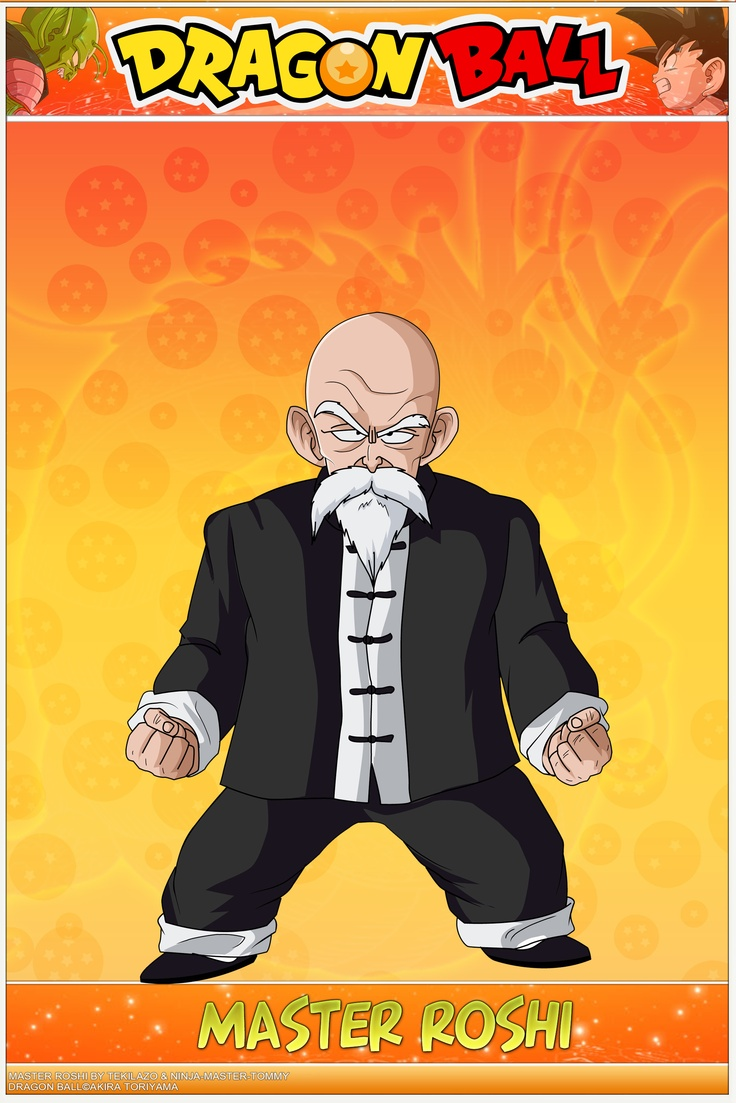 Dragon Ball - Master Roshi KPS by DBCProject.deviantart.com