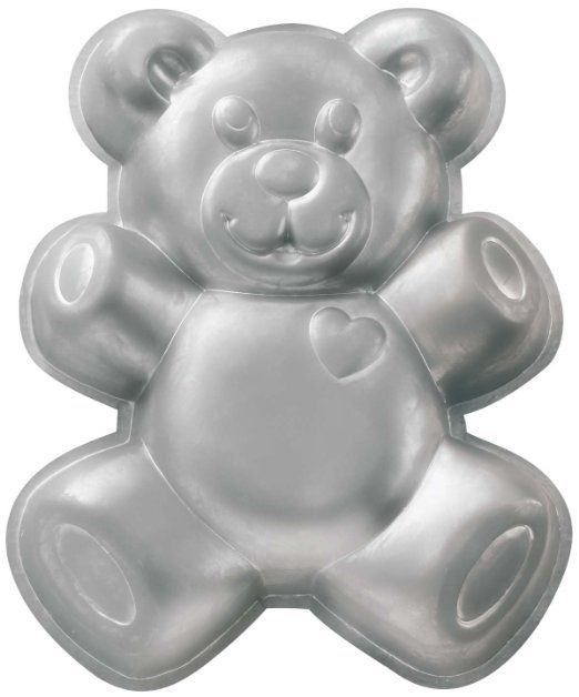 Amazon.com: Wilton Teddy Bear Cake Pan