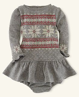 could so picture this with white tights and a little red jacket ♥