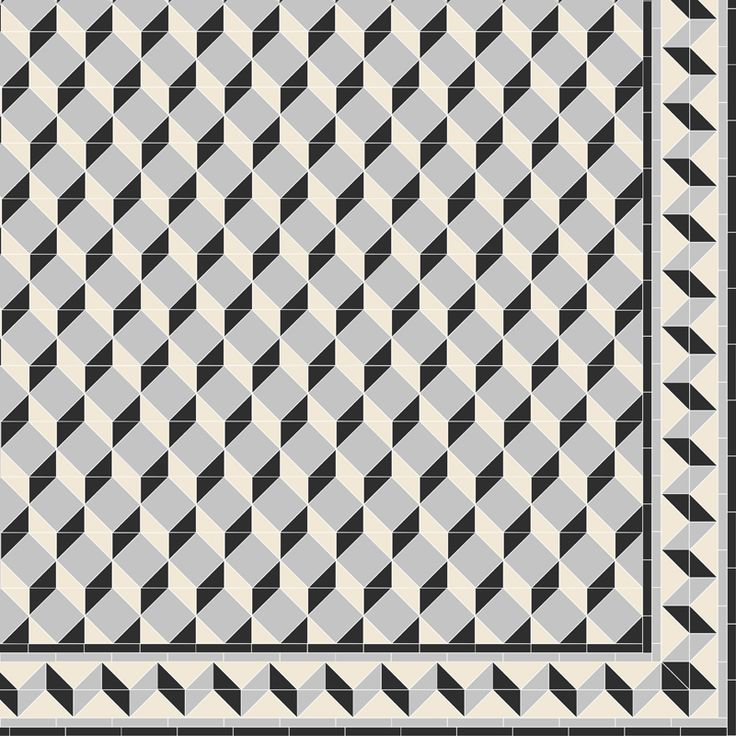 Create Your Own Art Deco Inspired Pattern Like This One, Which Was Made  Using Invididual Square And Triangle Tiles From The Victorian Floor Tiles  Collection ... Part 94