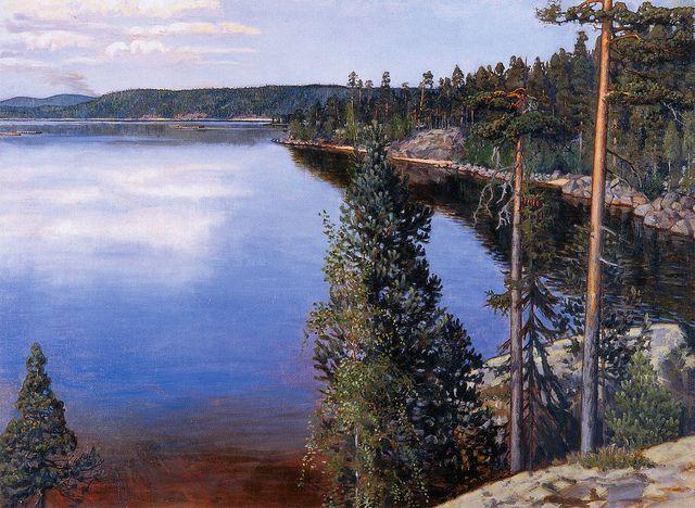 Akseli Gallen-Kallela - Landscape from Ruovesi | by irinaraquel
