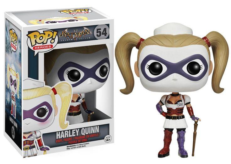 Funko Pop! Heroes: Arkham Asylum - Nurse Harley Quinn