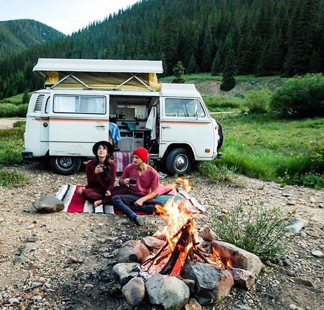 Photo by @thenomadicpeople #projectvanlife