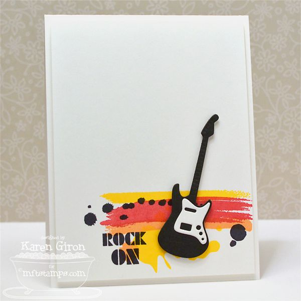 ROCK On by karengiron - Cards and Paper Crafts at Splitcoaststampers