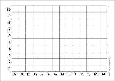 Simple blank coordinates grids (SB10610) - SparkleBox | Rekenen ...