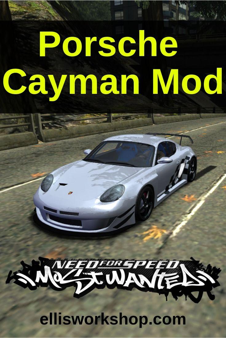 Porsche Cayman Mod for NFS: Most Wanted | Racing Game Car
