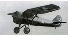 PZL P.7 in flight