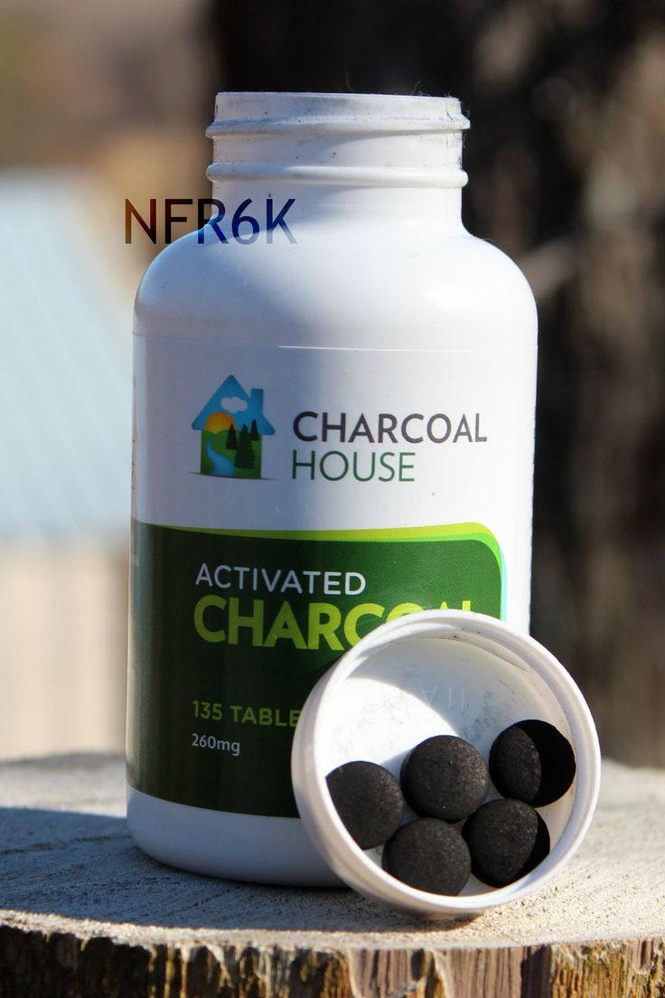 Activated charcoal tablets/capsules for on the go – Food poisoning, stomach bug, flu. A must have item for any emergency kit