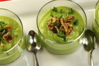 Chilled Chilean Avocado Soup | my inner chef | Pinterest