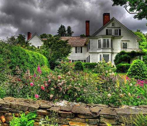 this is the bellamy ferriday house garden bethlehem ct a connecticut landmarks property