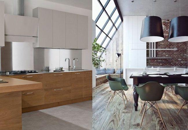 Colore Parete Cucina Legno ~ Trova le Migliori idee per Mobili e ...