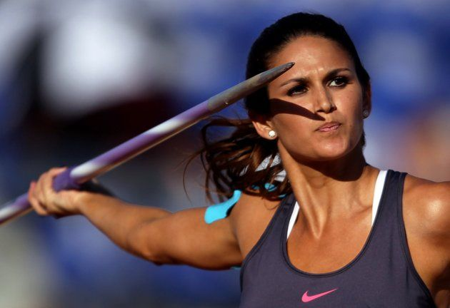 Leryn Franco of Paraguay specializes in the women's javelin throw but might be better known for her looks than her performance.