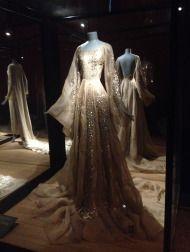 Maison Lanvin robe organdi beige rosé, exposition Jeanne Lanvin, palais Galliera, 2015