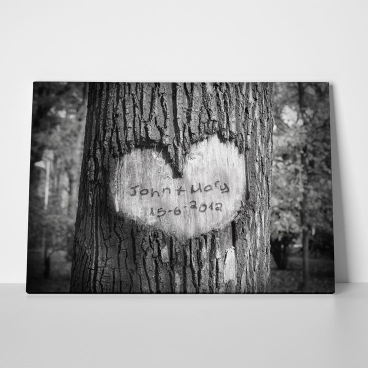 Canvas print WOOD CARVING by Sticky!!!