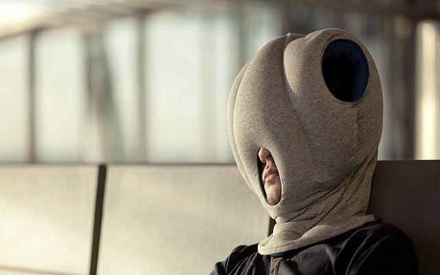 Buro Schlaf Tasche Ostrich Kissen Schlafkissen Nackenkissen