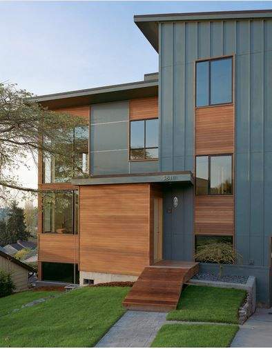 26 best Modern house exterior siding images on Pinterest ...