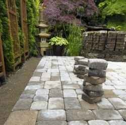 anese inspired patio and almost done laying the pavers outdoor flooringflooring ideaspatio - Patio Flooring Ideas