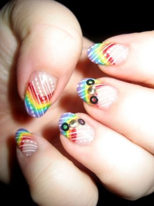 All Glam Nail Art Designs