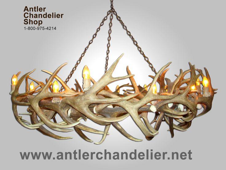 deer+antler+chandelier   XL Antler Chandeliers   Antler Chandelier