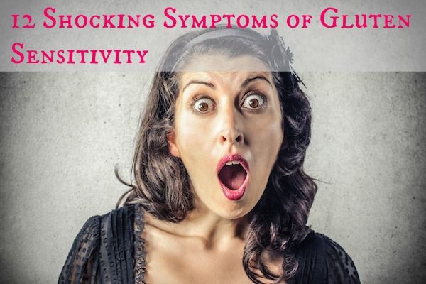 """12 Shocking Symptoms of Gluten Sensitivity.  I don't think they're really all that """"shocking."""" But a good article on symptoms."""