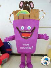 Süßigkeiten maskottchen Kostüm/Eis maskottchen kostüm zum verkauf