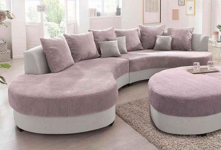 BENFORMATO HOME COLLECTION Big-Sofa, Frei im Raum stellbar ...
