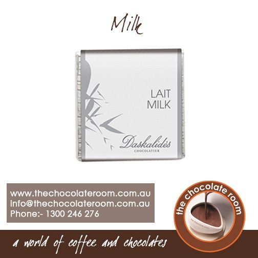 Milk #Chocolate  For more updates, follow us @chocolateroomau