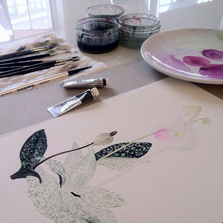 Painting motifs for MAY | Hothouse  © Shelley Steer