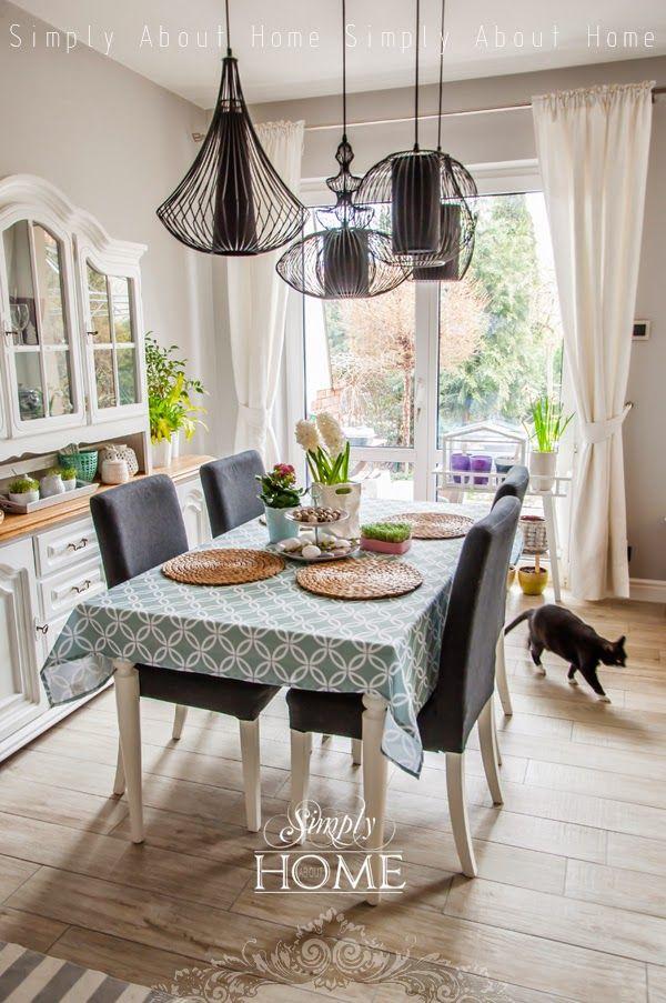 simply about home: Wiosna w domu, zima za oknem, czyli idą święta!