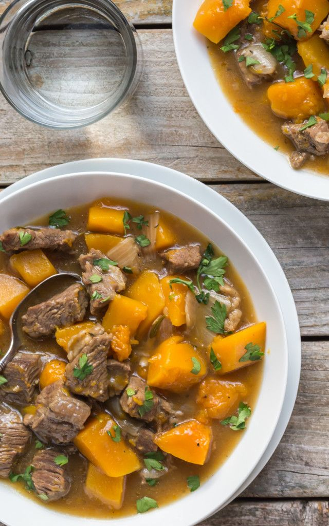 Delicious Healthy Beef And Butternut Squash Stew It S Paleo