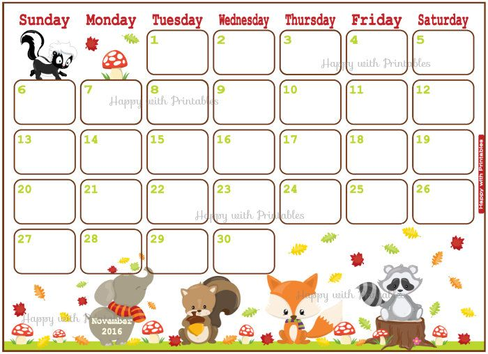 Happy With Printables Calendar November : Best images about happy with printables on pinterest