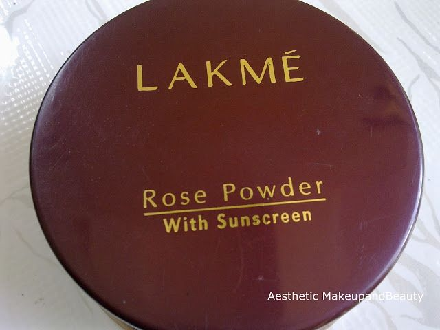 Aesthetic: Lakme Rose Powder Review