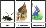 Woordkaarten pluk redt de dieren
