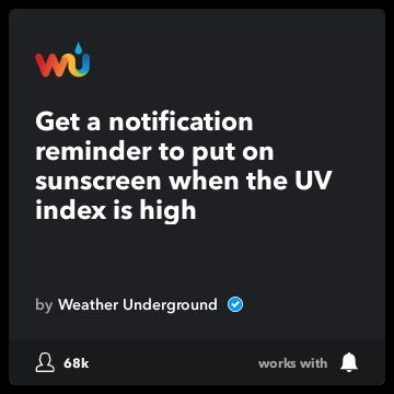 Recommended Recipe by Weather Underground