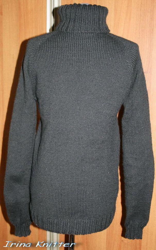 Ручная одежда Черный свитер
