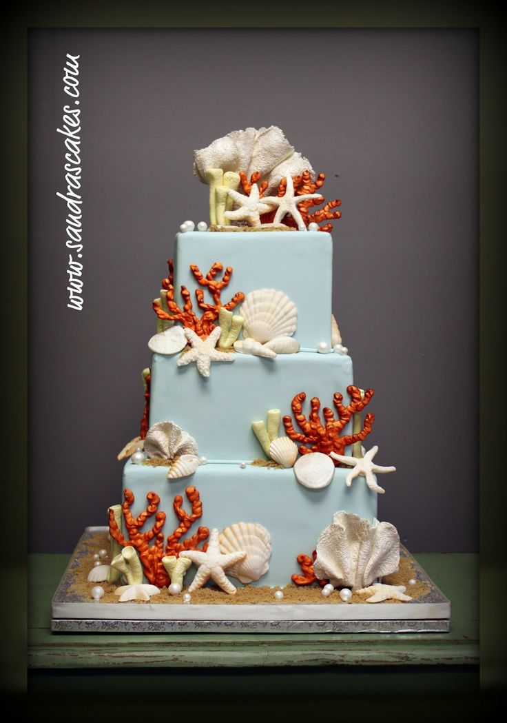 Wedding Cake Cookies Paula Deen Images About Sun And Sea Cakes On