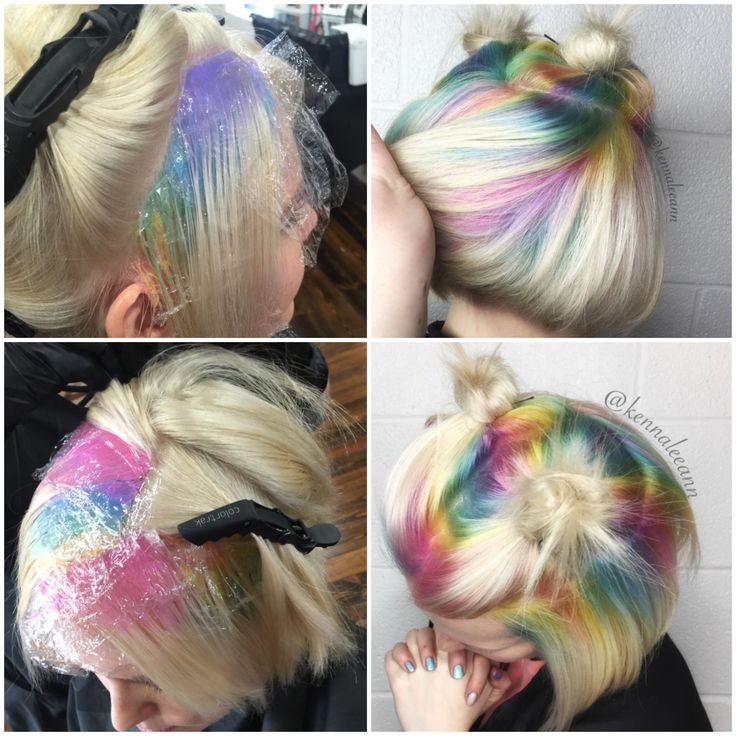 Makeover: Pastel Rainbow Shadow Roots - Career - Modern Salon