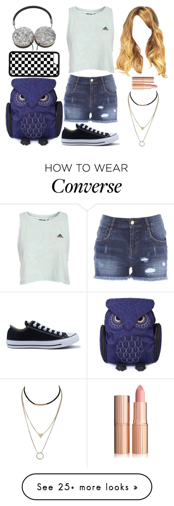 """""""Going Out"""" by lucy-wolf on Polyvore featuring Converse and Mira Mikati"""