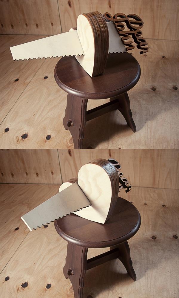 Wood for your soul (part 2) by Mike van Heerden, via Behance