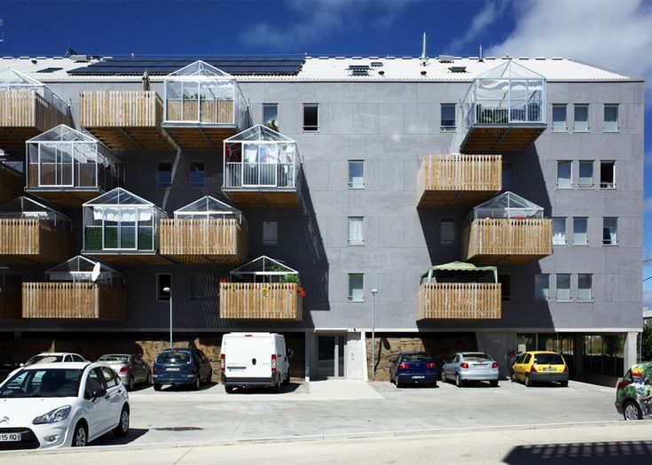 Pradenn Social Housing, Nantes by Block Architects