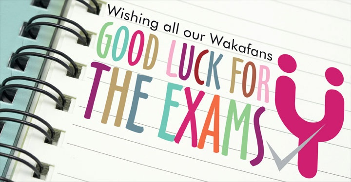 how to wish good luck for exam