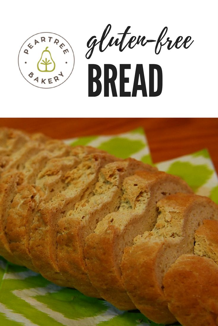 At Peartree Bakery, we sell delicious gluten-free bread! You would never know it's gluten-free!