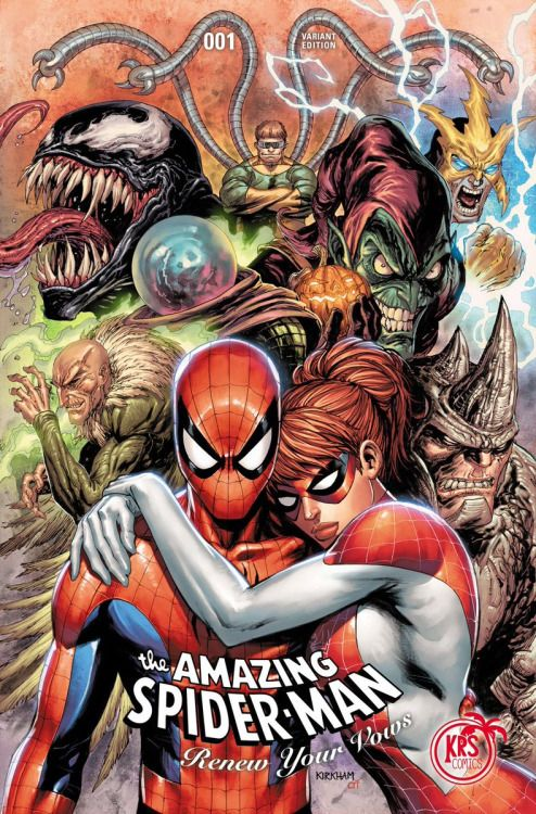 The Amazing Spider-Man: Renew Your Vows #1 KRS Comics Variant - Tyler Kirkham