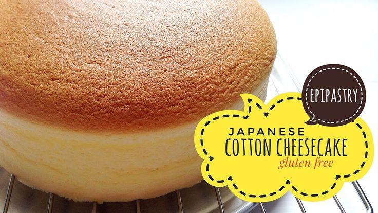 Light Japanese Cotton Cheesecake [Gluten Free]