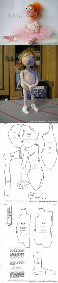 Характерные куклы по дизайну Джилл Маас