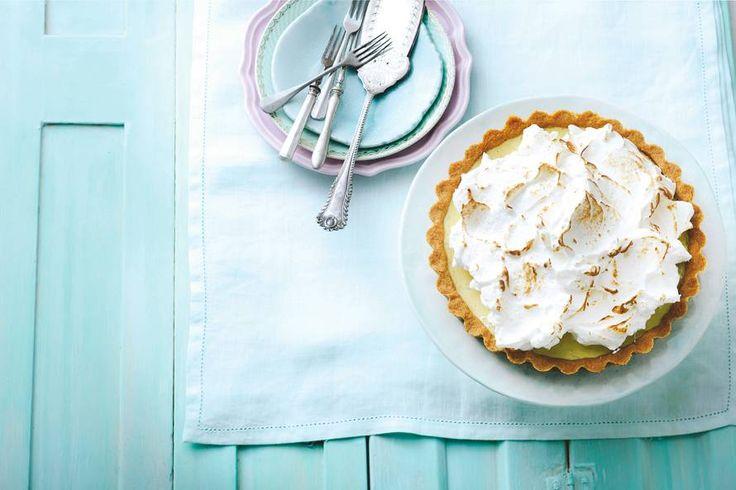 Lime meringue pie - Recept - Allerhande