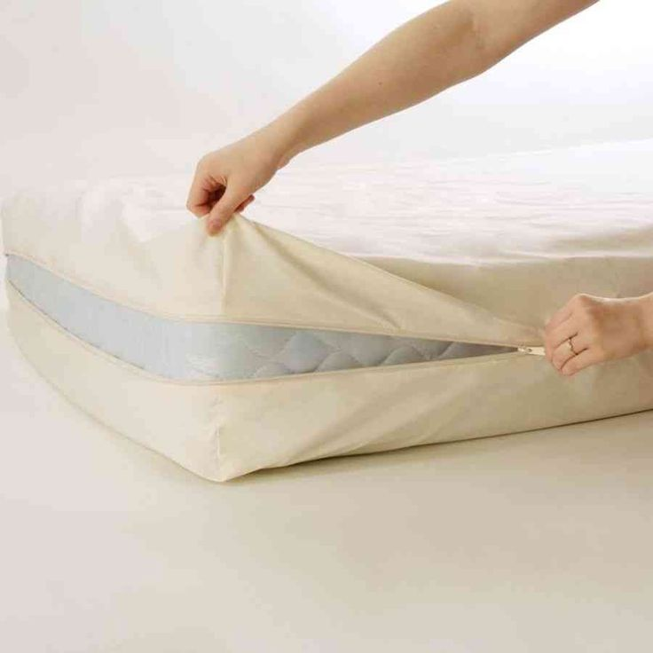 bedcare by national allergy organic cotton mattress protector