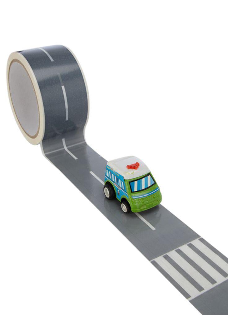 Donkey Products Decoratieve tape My First Autobahn • de Bijenkorf